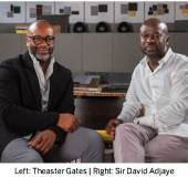 Left: Theaster Gates | Right: Sir David Adjaye