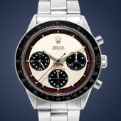 Paul Newman Daytona, Reference 6241, circa 1968 To be offered in the first sale, open for bidding 1-8 April (est. HKD 1-2m / USD 129,000 – 258,000)