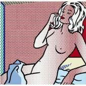 Roy Lichtenstein's Nude Sunbathing
