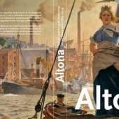 """Umschlagmotiv """"350 Jahre Altona"""" unter Verwendung des Gemäldes """"Altonia"""" von Otto Markus aus dem Jahr 1905"""