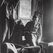 Franz Marc im Unterstand 1915/16, Franz Marc Museum