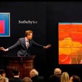 Lot 6- David Hockney, 15 Canvas Study of the Grand Canyon