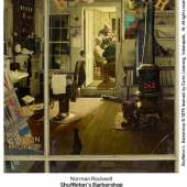 Norman Rockwell's Shuffleton's Barbershop Highlights Sotheby's American Art Auction On 13 November