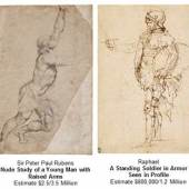 Newly-Discovered Work by Raphael and Rare Drawing by Rubens To Lead Sotheby's Sale of Old Master Drawings On 30 January in New York