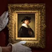 ONE OF ONLY THREE SELF-PORTRAITS BY THE DUTCH MASTER LEFT IN PRIVATE HANDS REALISES £14,549,400