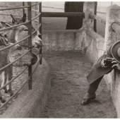 Friedrich Seidenstücker, Amateurfotograf im Berliner Zoo, 1930 © Stiftung Ann und Jürgen Wilde, Pinakothek der Moderne, München