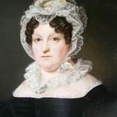 Bildnis von Betty Heine, unbek. Künstlern, 1825