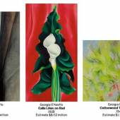 Sotheby's to Offer Three Paintings by Georgia O'Keeffe to Benefit the O'Keeffe Museum