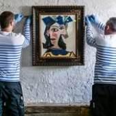 Ein Meisterwerk von Pablo Picasso für 24 Stunden in einem Schweizer Haushalt