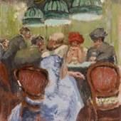Walter Sickert (1860-1942), Baccarat, 1922 at Piano Nobile