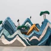 Water Mark Mountain by Naihan Li