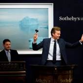 liver Barker fields bids at Sotheby's Evening Sale of Contemporary Art, 8 March 2017