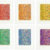 Prints from the Collection of David Teiger, Led by a Rare Set of Jasper Johns's Cicada from 1981 Estimate $300/500,000