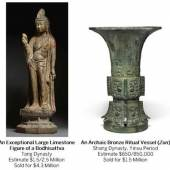Sotheby's Asia Week Update: $4.3 Million Tang Dynasty Bodhisattva Leads Chinese Works of Art Auctions