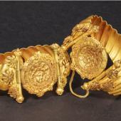 Frühhellenistische Goldarmbänder aus dem 4. – 3. Jahrhundert vor Christus.