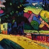 Wassily Kandinsky, Murnau – Landschaft