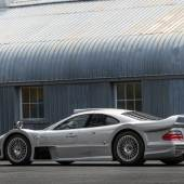 A rear view of the 1998 Mercedes-Benz AMG CLK GTR (Credit – Patrick Ernzen © 2018 Courtesy of RM Sotheby's)