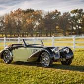 Lot 232 - 1937 Bugatti Type 57S Cabriolet (Chassis 57513)  $7,700,000