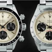 The Rolex Daytona Capsule Collection Sotheby's Online Sale open for bidding 24–30 May