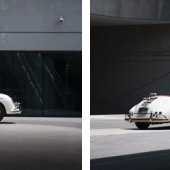 The 1956 Porsche 356 A 1600 S Speedster photographed at the Porsche Experience Center Atlanta (Credit – Matthew Jones © 2018 Courtesy of RM Sotheby's).