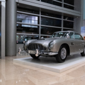James Bond Aston Martin DB5 Andrew Miterko © 2019 Courtesy of RM Sotheby's