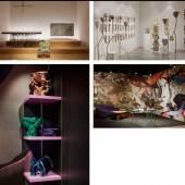 "Mathieu Lehanneur presents Inverted Gravity Galerie SCENE OUVERTE presents Phantasmagoria Nilufar Gallery presents FAR Syz Art Jewels presents ""Dino Runes"" by Kerstin Brätsch"