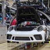 Porsche 911 Speedster, production (Credit - Courtesy of Porsche Cars North America)