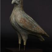 Außergwöhnlich großer, antiker Bronzeadler wohl aus Griechenland.