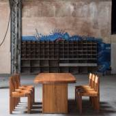 T20A dining table/ Pierre Chapo/ Courtesy of Magen H Gallery