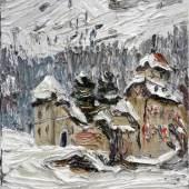 Christopher Lehmpfuhl, Schloss im Winter, 2015