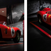 1956 Ferrari 290 MM offered by RM Sotheby's in Los Angeles, 8 December (Diana Varga © 2018 Courtesy of RM Sotheby's);