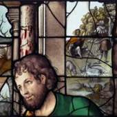 Jean Chastellain (d. 1541/2), A shepherd from a window of the Nativity, Paris, c1530, Sam Fogg