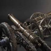 Ein Paar kleine Geschütze aus adeligem Besitz, deutsch, datiert 1707 SP: 18000 Euro