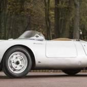 Los 140 1956 PORSCHE 1.5-LITRE TYP 550/1500 RENNSPORT SPYDER SPORTS-RACING TWO-SEATER Coachwork by Wendler Chassis no. 550-0090 Verkauft für £4,593,500 (€5,391,558) inkl. Zuschlag