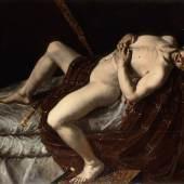 Angelo Caroselli, Der Selbstmord des Cato, © Gemäldegalerie der Akademie der bildenden Künste Wien