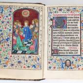 Horae B. M. V. Lateinisches Stundenbuch für den Gebrauch von Rom. Schätzpreis:100.000 € Zuschlag: 90.000 € zuzüglich
