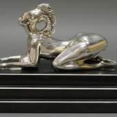 "Skulptur, Silber 925, ""Sphinx"" Limitpreis:2.000 €"