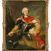 Johann Heinrich Tischbein d. Ä. (1722 Haina - 1789 Kassel) Ludwig Ernst Herzog von Braunschweig-Wolfenbüttel, Mindestpreis:28.000 EUR