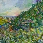 Oskar Kokoschka - Blick auf Rapallo