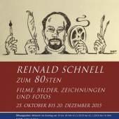 Plakat: Ausstellung Reinlas Schnell