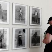 Cherry and Martin's exhibition of Hal Fischer's Gay Semiotics at NYABF15. Photo courtesy Desilu Muñoz.