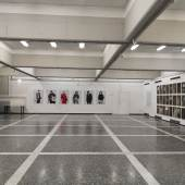 """Ausstellungsansicht Monets """"HANNO KAUTZ, GERHARD MAURER, ARNOLD PÖSCHL"""" (c) stadtgalerie.net"""