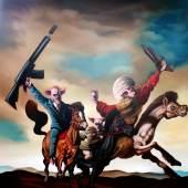 ((Bild Dante Galic IMG 2478; Bildnachweis: Dante Galic)): Auf der ARTe 2019 in Sindelfingen zu bestaunen: Ein Werk des dänischen Künstlers Dante Galic.