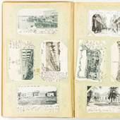 Postkartenalbum, ca. 350 Karten, ab ca. 1900 bis ca. 1925