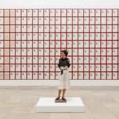 Installationsansicht / Installation view Haus der Kunst Foto: Maximilian Geuter © Hanne Darboven Stiftung, Hamburg/ VG Bild-Kunst, Bonn 2015