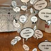 Impressionen aus der Ausstellung, Foto: Stiftung Saarländischer Kulturbesitz.