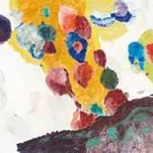 "Max Weiler ""Bunte Farben"", 1991"