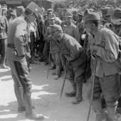 Kaiser Karl I. in der  11. Isonzoschlacht Foto: k. u. k. Kriegspressequartier 22.8.1917