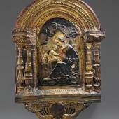 Italian, Florence or Siena, circa 1470-1480, Relief with the Madonna and Child among Clouds, est. £40,000-60,000 (1)