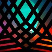 Iv Toshain, Space Odyssey, 2011, Mdf, Wood, Lasercut, Balloons, Led, Rope, Screws,  200x200x200cm
